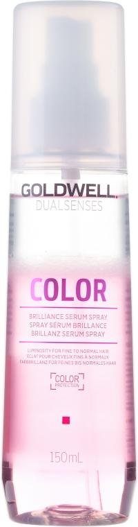 Kräftigendes Sprühserum für gefärbtes Haar mit UV- Schutz - Goldwell Dualsenses Color Brilliance Serum Spray