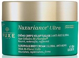 Düfte, Parfümerie und Kosmetik Regenerierende Anti-Aging Körpercreme für strahlende Haut - Nuxe Nuxuriance Ultra Luxurious Body Cream