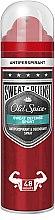 Düfte, Parfümerie und Kosmetik Deospray Antitranspirant - Old Spice Sweat Defense Sport Antiperspirant & Deodorant Spray