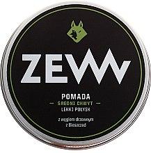 Düfte, Parfümerie und Kosmetik Modellierende Haarpomade mit Aktivkohle für Herren - ZEW Pomade For Men