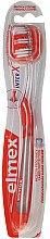 Düfte, Parfümerie und Kosmetik Zahnbürste mittel Caries Protection InterX rot - Elmex Toothbrush Caries Protection InterX Medium