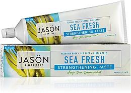 Düfte, Parfümerie und Kosmetik Stärkende Zahnpasta Sea Fresh - Jason Natural Cosmetics Toothpaste Deep Sea Spearmint