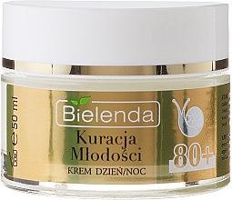 Reparierende Anti-Falten Gesichtscreme mit Schneckenschleim-Extrakt 80+ - Bielenda Kuracja Mlodosci Cream 80+ — Bild N2