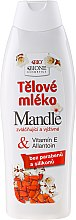 Düfte, Parfümerie und Kosmetik Pflegende Körperlotion mit Mandelöl - Bione Cosmetics Body Lotion With Allantoin and Vitamin E