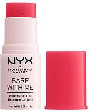 Düfte, Parfümerie und Kosmetik Feuchtigkeitsspendender Rouge-Stick - NYX Professional Bare With Me Hydrating Cheek Tint