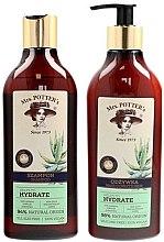 Düfte, Parfümerie und Kosmetik Haarpflegeset - Mrs. Potter's Triple Herb (Shampoo 390ml + Haarspülung 390ml)