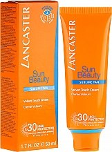 Düfte, Parfümerie und Kosmetik Aktiv schützende Sonnencreme für Körper und Gesicht mit LSF 30 - Lancaster Sun Beauty Velvet Touch Cream Radiant Tan SPF 30
