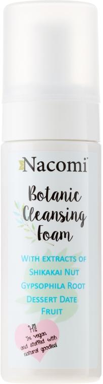 Gesichtsreinigungsschaum - Nacomi Botanic Cleansing Foam