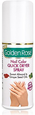 Nagellacktrockner-Spray - Golden Rose Nail Quick Dryer Spray — Bild N1