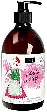 Düfte, Parfümerie und Kosmetik Küchen-Handseife mit Rhabarber und Rettich - LaQ Liquid Soap