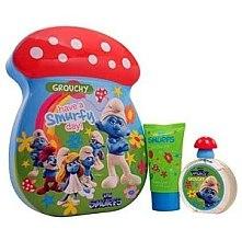 Düfte, Parfümerie und Kosmetik Marmol & Son The Smurfs Grouchy - Duftset (Eau de Toilette 50ml + Badeschaum 75ml)