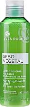 Düfte, Parfümerie und Kosmetik Klärende Gesichtslotion mit Boreal-Teepuder und Salicylsäure - Yves Rocher Sebo Vegetal Lotion