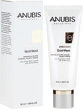 Düfte, Parfümerie und Kosmetik Gesichtsmaske mit Gold, Kaviar und Perlen - Anubis Effectivity Gold Mask