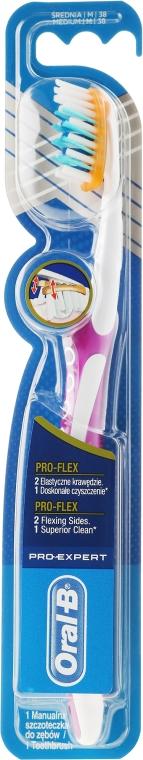 Zahnbürste mittel Pro-Expert Pro-Flex violett-weiß - Oral-B Pro-Expert Pro-Flex 38 Medium — Bild N1