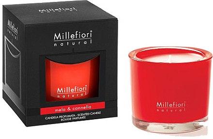 Duftkerze im Glas Mela & Cannella - Millefiori Milano Natural Candle Mela & Cannella — Bild N1