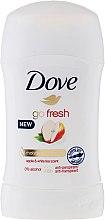 Düfte, Parfümerie und Kosmetik Deostick Antitranspirant - Dove Go Fresh Apple & White Tea Deodorant