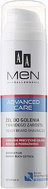Rasiergel - AA Men Advanced Care Tough Beard Shaving Gel — Bild N1