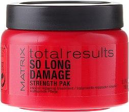 Düfte, Parfümerie und Kosmetik Kräftigende Haarpflege - Matrix Total Results So Long Damage Mask