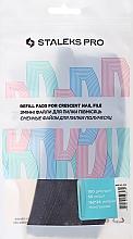 Düfte, Parfümerie und Kosmetik Ersatzfeilenblätter DFE-42-100 Halbmond - Staleks Pro (50 St.)