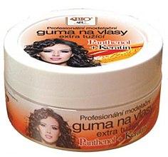 Düfte, Parfümerie und Kosmetik Haarwachs - Bione Cosmetics Keratin + Panthenol Professional Extra Strong Sculpting Rubber