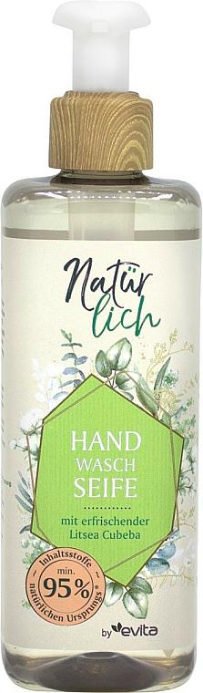 Flüssige Handseife mit erfrischender Litsea Cubeba - Evita Naturlich Eco Liquid Soap Litsea Cubea