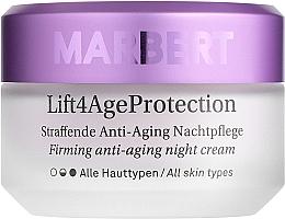 Düfte, Parfümerie und Kosmetik Straffende Anti-Aging Nachtpflege für das Gesicht - Marbert Lift4Age Protection Straffende Anti-Aging Night Care