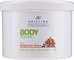 Düfte, Parfümerie und Kosmetik Körperpeeling mit bulgarischem Rosenöl - Hristina Cosmetics Bulgarian Rose Body Peeling
