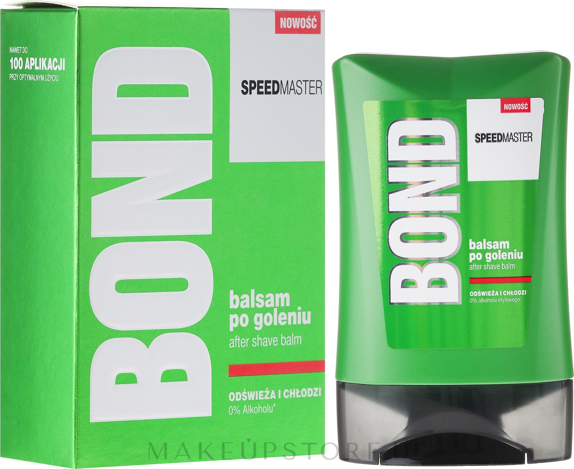 Beruhigender After Shave Balsam - Bond Speedmaster After Shave Balm — Bild 150 ml