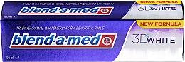 Düfte, Parfümerie und Kosmetik Zahnpasta 3D White - Blend-a-med 3D White Toothpaste