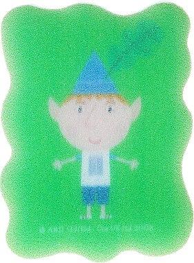 Kinder-Badeschwamm Ben und Holly grün - Suavipiel Ben & Holly — Bild N1