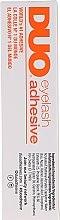 Düfte, Parfümerie und Kosmetik Hautfreundlicher Klebstoff für Wimpern ohne Latex mit feiner Pinsel - M.A.C Duo Brush On Striplash Adhesive Dark