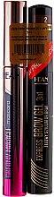 Düfte, Parfümerie und Kosmetik Make-up Set (Wimperntusche /10ml + Augenbrauengel 12ml) - Hean