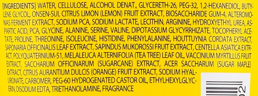 Gesichtspeelinggel mit Zitrone und Vitamin C - Holika HolikaSparkling Lemon Peeling Ge — Bild N2