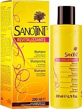 Düfte, Parfümerie und Kosmetik Revitalisierendes Shampoo mit Goldhirse - Sanotint Shampoo