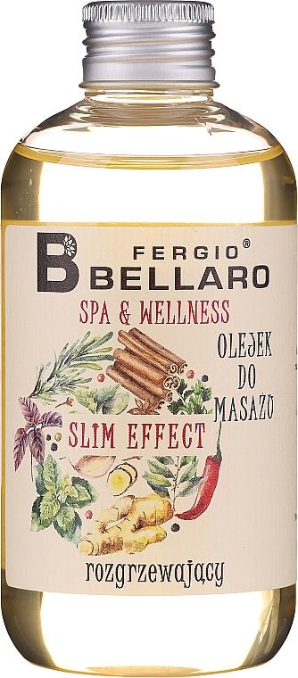 Erwärmendes Massageöl mit Zimt, Ingwer und Chili - Fergio Bellaro Massage Oil Slm Effect
