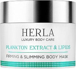 Düfte, Parfümerie und Kosmetik Straffende Körpermaske zum Abnehmen - Herla Luxury Body Care Plankton Extract & Lipids Body Mask