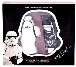 Düfte, Parfümerie und Kosmetik Disney Star Wars Stormtrooper - Duftset (Eau de Toilette/100ml + Duschgel/150ml)