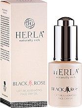 Düfte, Parfümerie und Kosmetik Trockenes Gesichtsöl mit Liftingeffekt - Herla Black Rose Face Dry Oil