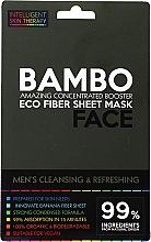 Düfte, Parfümerie und Kosmetik Gesichtsreinigungsmaske mit Bambus-Extrakt und Meersalz - Beauty Face Cleansing & Refreshing Compress Mask For Man