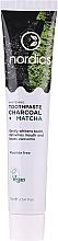 Düfte, Parfümerie und Kosmetik Aufhellende Zahnpasta mit Aktivkohle und Matcha - Nordics Whitening Charcoal Matcha Tooshpaste