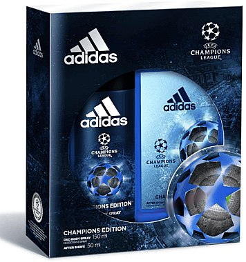 Adidas UEFA Champions League Arena Edition - Duftset (Deo Spray 150ml + After Shave 50ml) — Bild N1