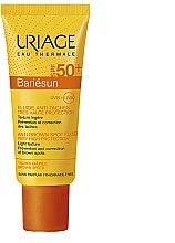 Düfte, Parfümerie und Kosmetik Sonnenschutzemulsion gegen Pigmentflecken SPF 50+ - Uriage Bariesun SPF50+ Anti-Brown Spot Fluid