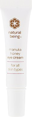 Augenkonturcreme - Natural Being Manuka Honey Eye Cream — Bild N2