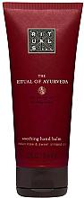 Düfte, Parfümerie und Kosmetik Beruhigender Handbalsam mit indischer Rose und Mandelöl - Rituals Of Ayurveda Hand Balm
