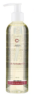 Salz aktivierendes Körperöl - Clarena Body Slim Line Collagen Salt Activator Oil — Bild N1