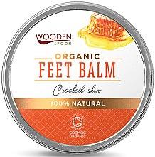 Düfte, Parfümerie und Kosmetik Feuchtigkeitsspendender Bio Fußbalsam für rissige Haut - Wooden Spoon Feet Balm Cracked Skin