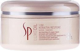Düfte, Parfümerie und Kosmetik Regenerierende Haarmaske mit Keratin - Wella SP Luxe Oil Keratin Restore Mask