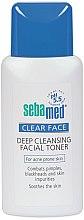 Düfte, Parfümerie und Kosmetik Tiefenreinigender Gesichtstoner für zu Akne neigende Haut - Sebamed Clear Face Deep Cleansing Toner