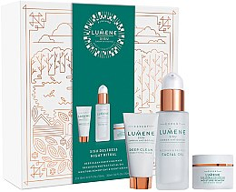 Düfte, Parfümerie und Kosmetik Set - Lumene Sisu (mask/15ml + f/oil/30ml + cr/15ml)