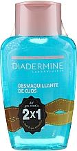 Düfte, Parfümerie und Kosmetik Augenpflegeset - Diadermine ( Make-up Entferner für die Augen 2x125ml)